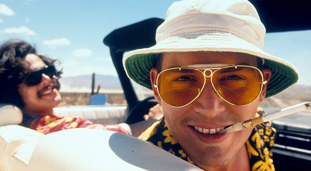 'Fear and Loathing in Las Vegas' with Johnny Depp is 2019's Summer Style Inspo