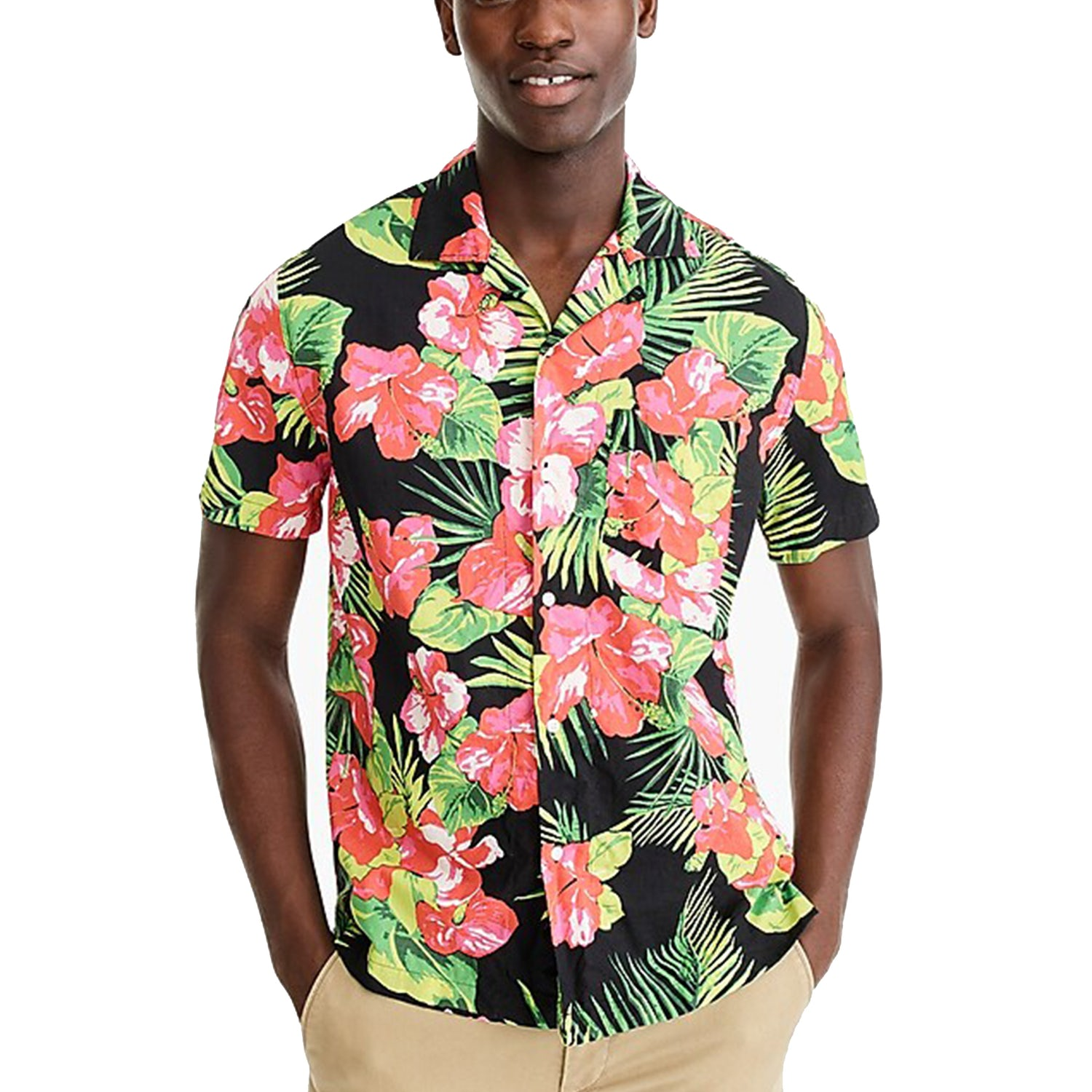 hawaiian shirt jcrew