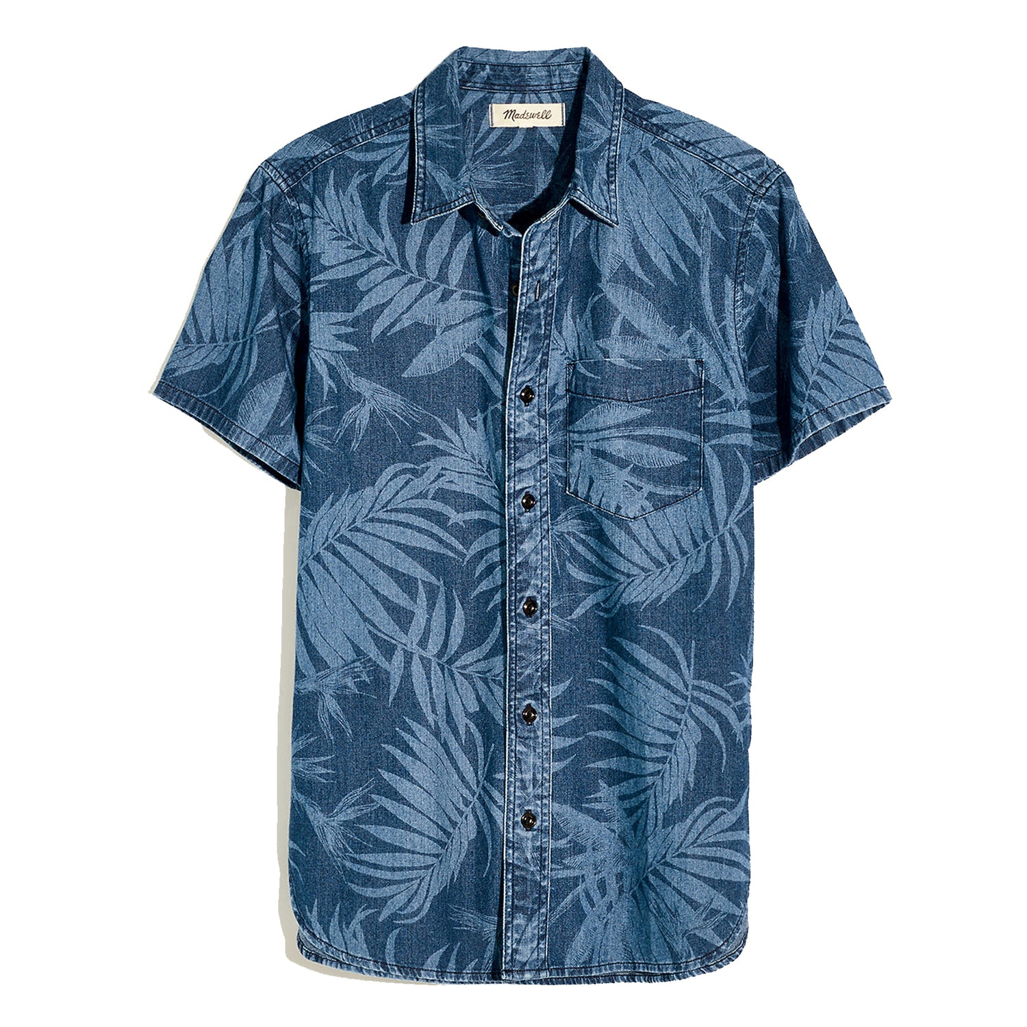 hawaiian shirt madewell