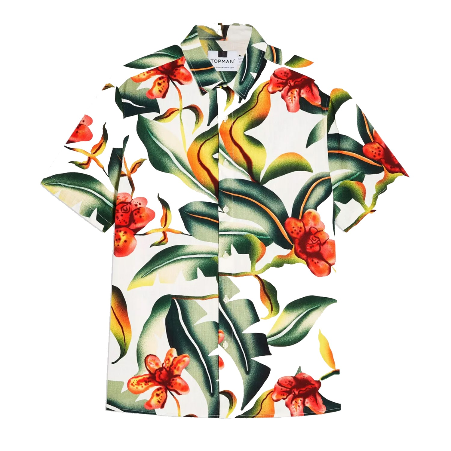 hawaiian shirt topman