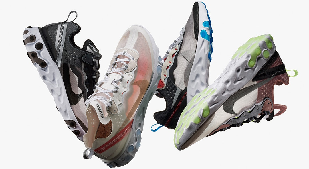 How 3 Celebs Style the Nike React Element 87s
