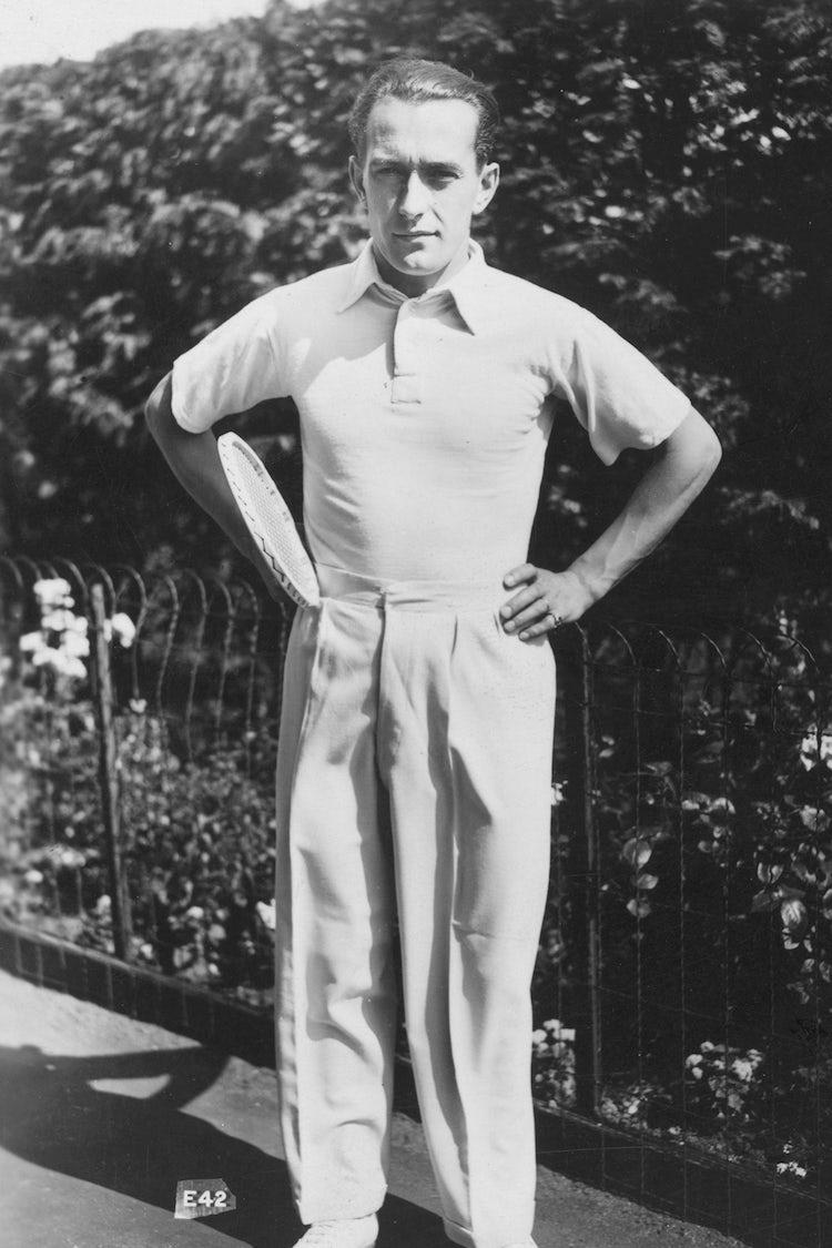 wimbledon mens style 1925