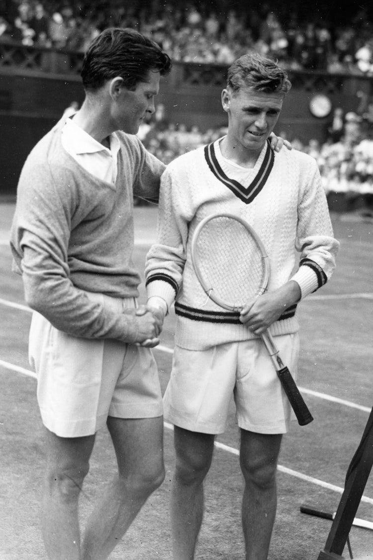 wimbledon mens style 1950