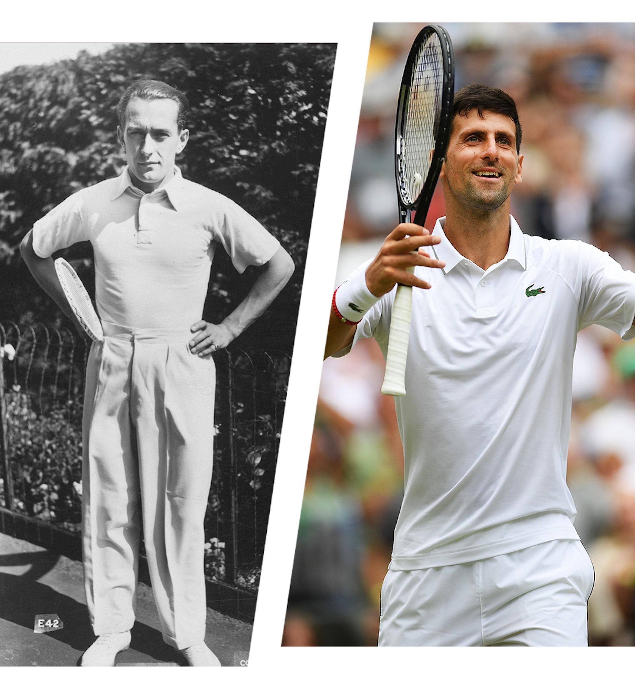 wimbledon style history tennis mobile