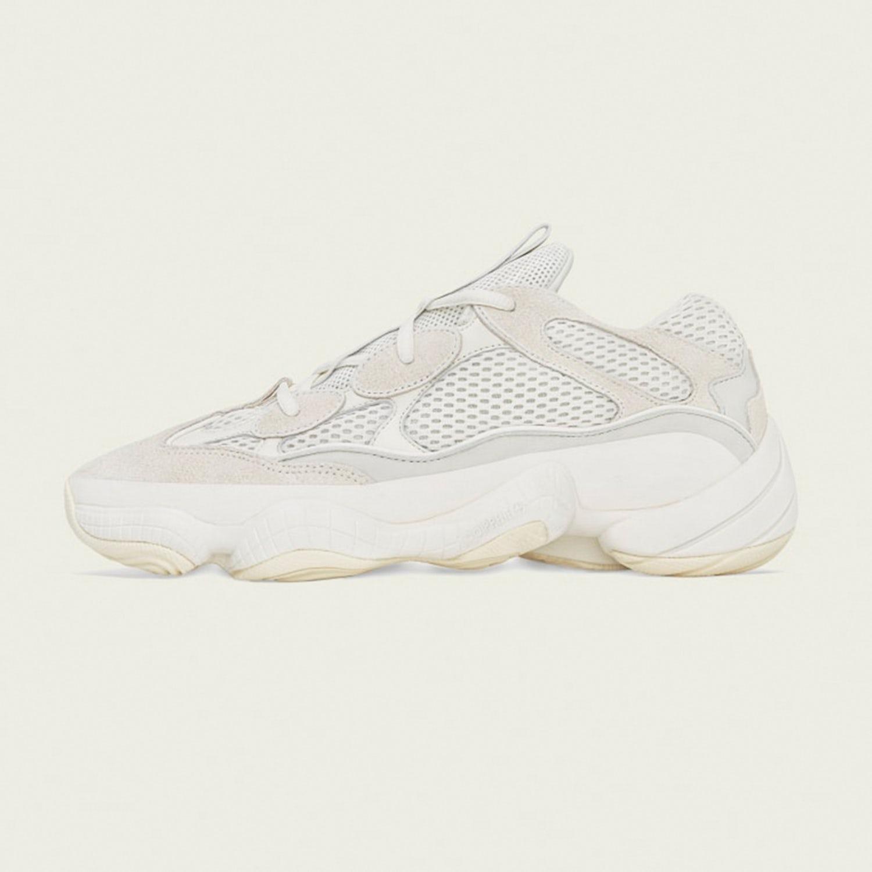 Adidas Yeezy Boost 500 Bone White 1