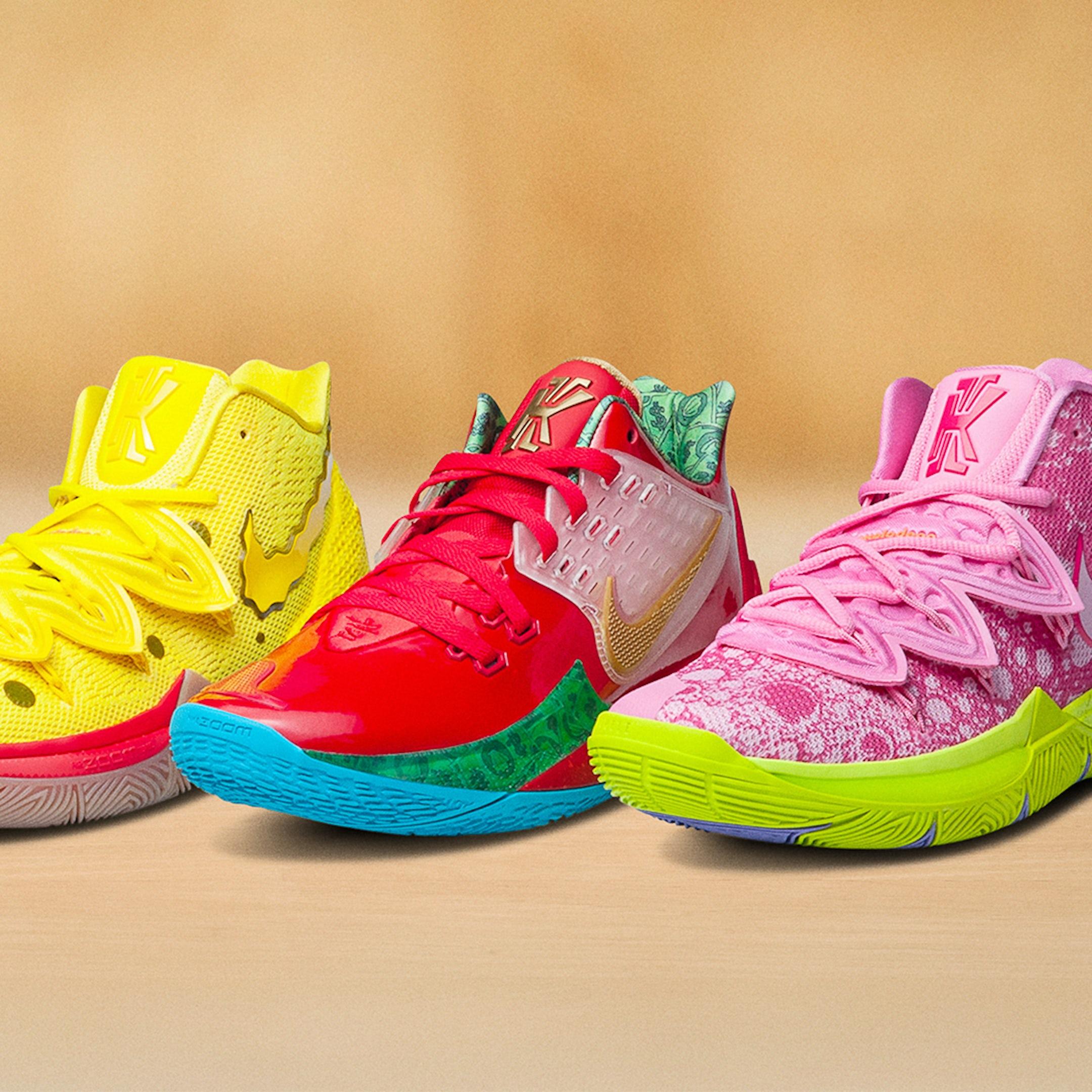 Spongebob Square Pants Nike Kyrie Mobile