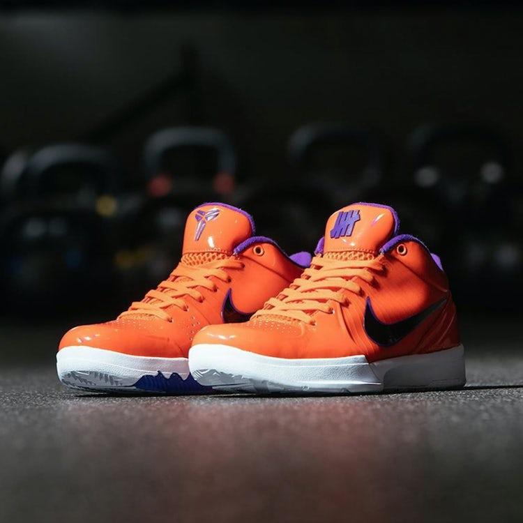 Undefeated Nike Zoom Kobe IV 4