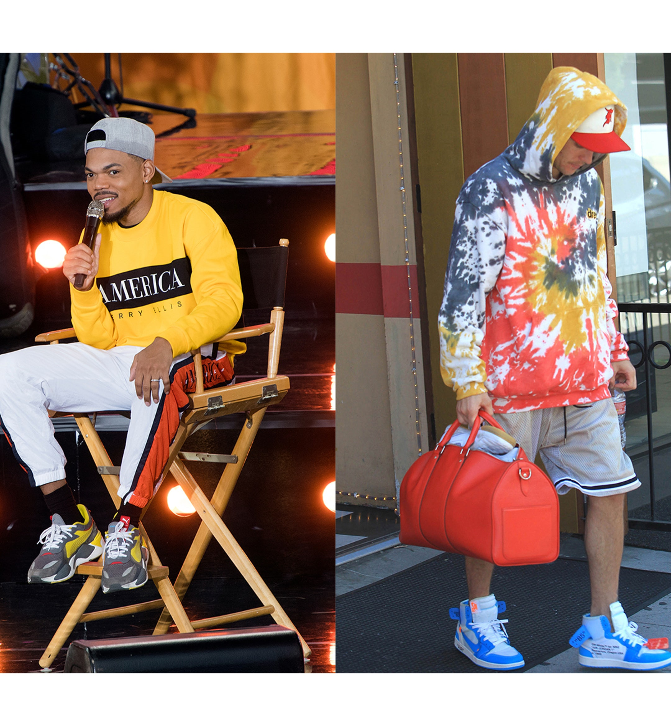 celeb fits this week bloom chance bieber mobile