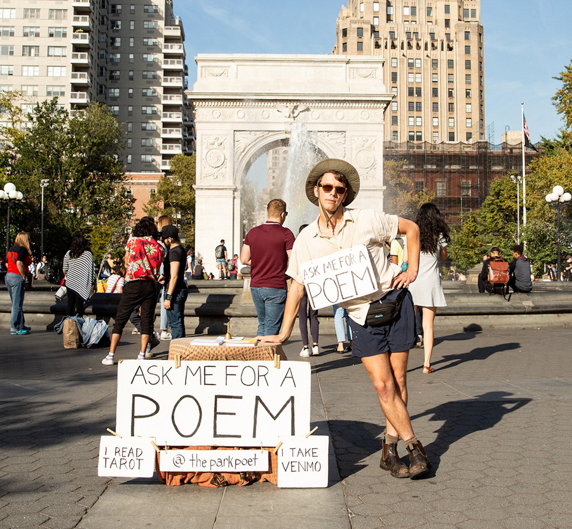 The Park Poet desktop