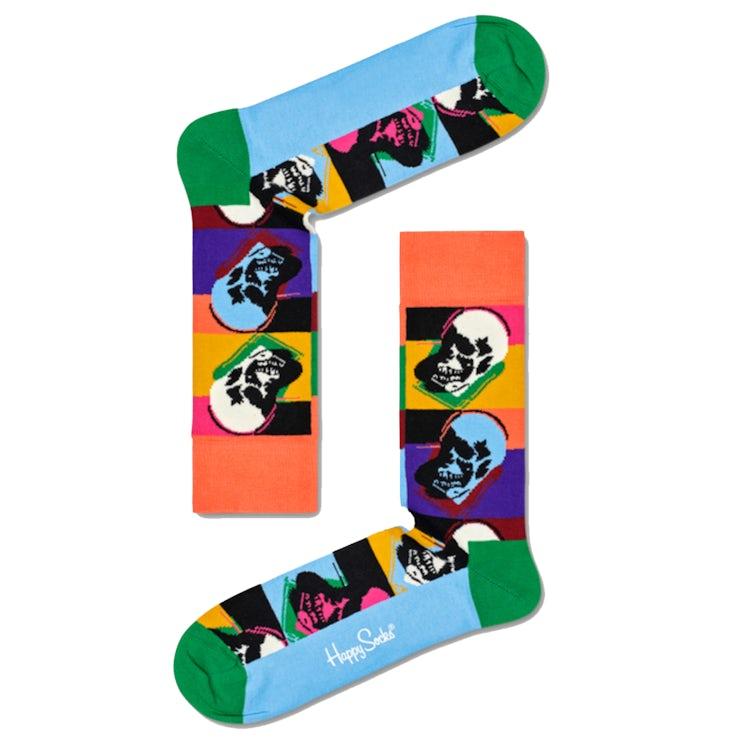 happy socks andy warhol