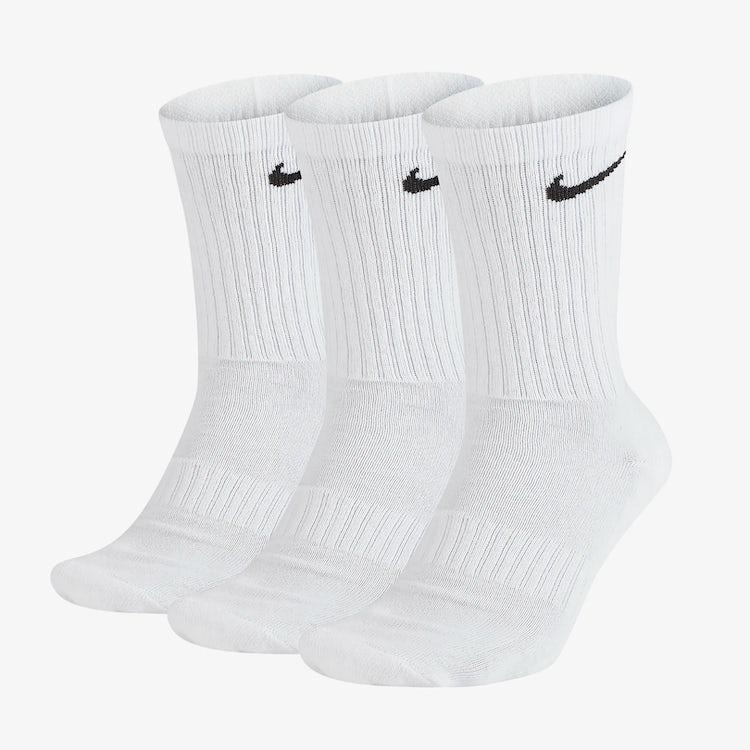 nike white sock