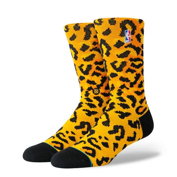 stance leopard socks