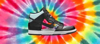 translucent sneaker and sock trend hero