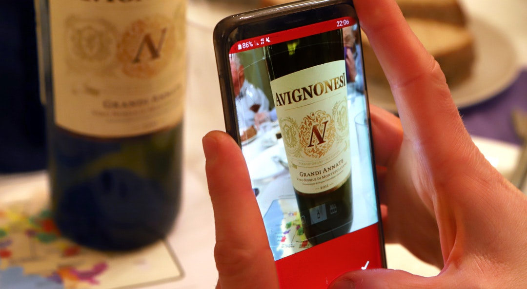 Ordering Wine from Your Cell Phone Is Now as Easy as 1-2-3
