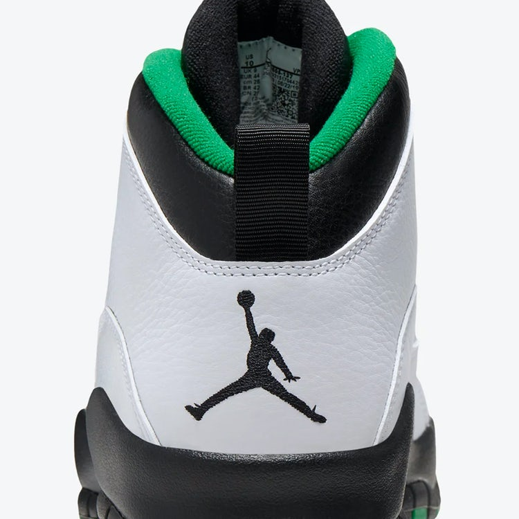 Air Jordan X City Series Seattle Sonics 3