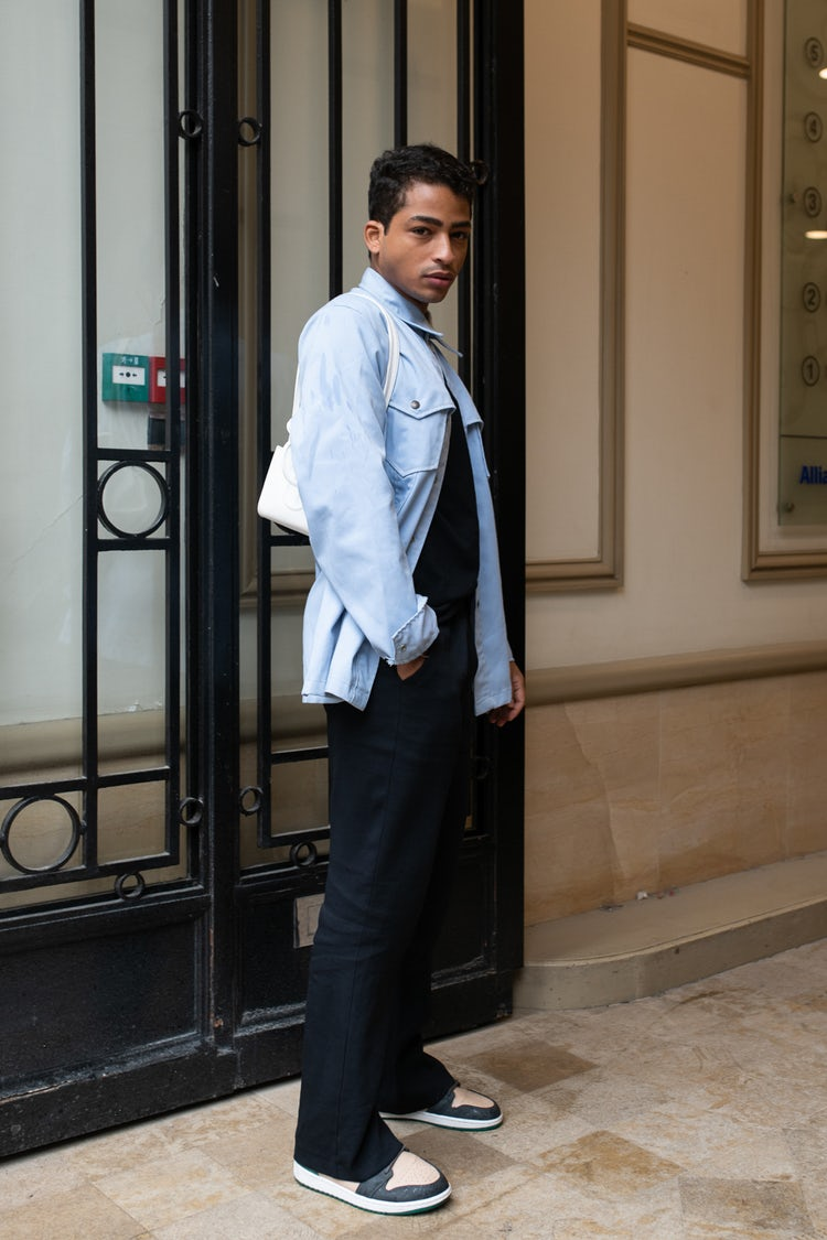 Mens Street Style Paris Fashion Week 5438