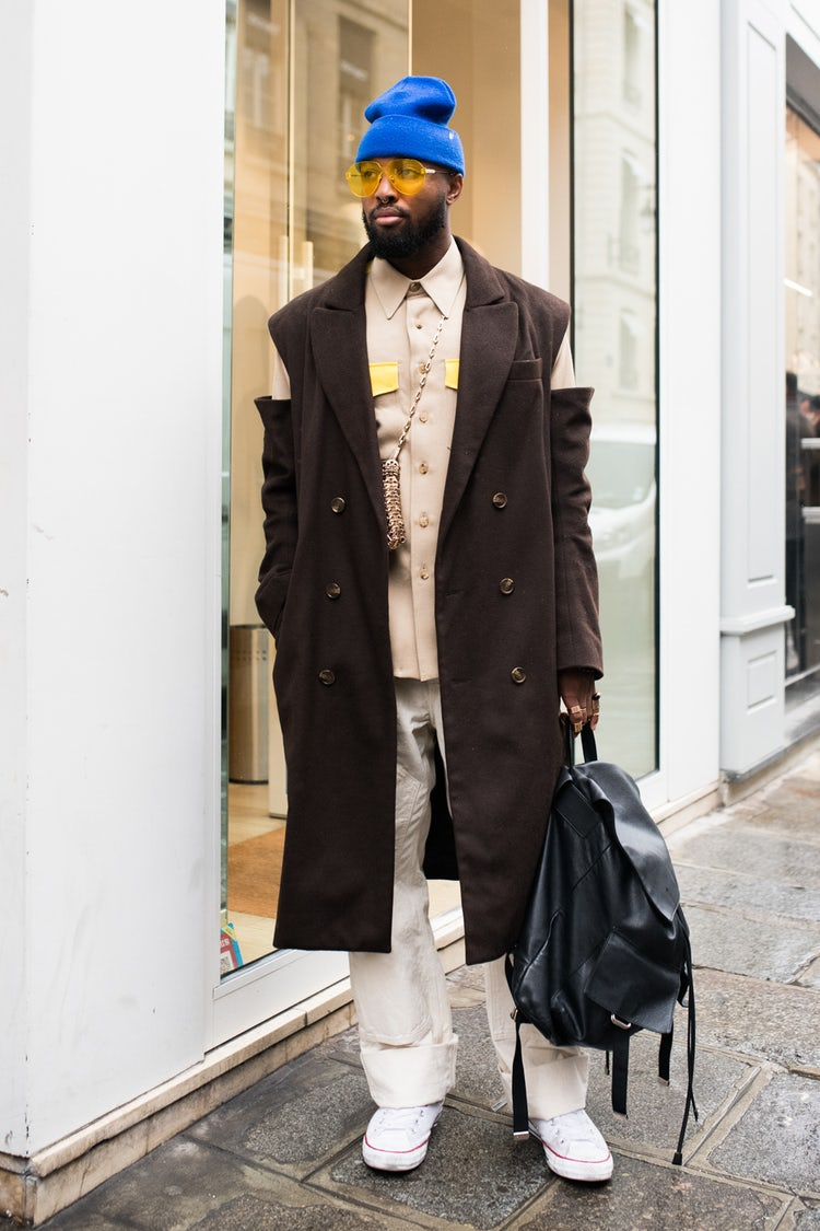 Mens Street Style Paris Fashion Week 5456