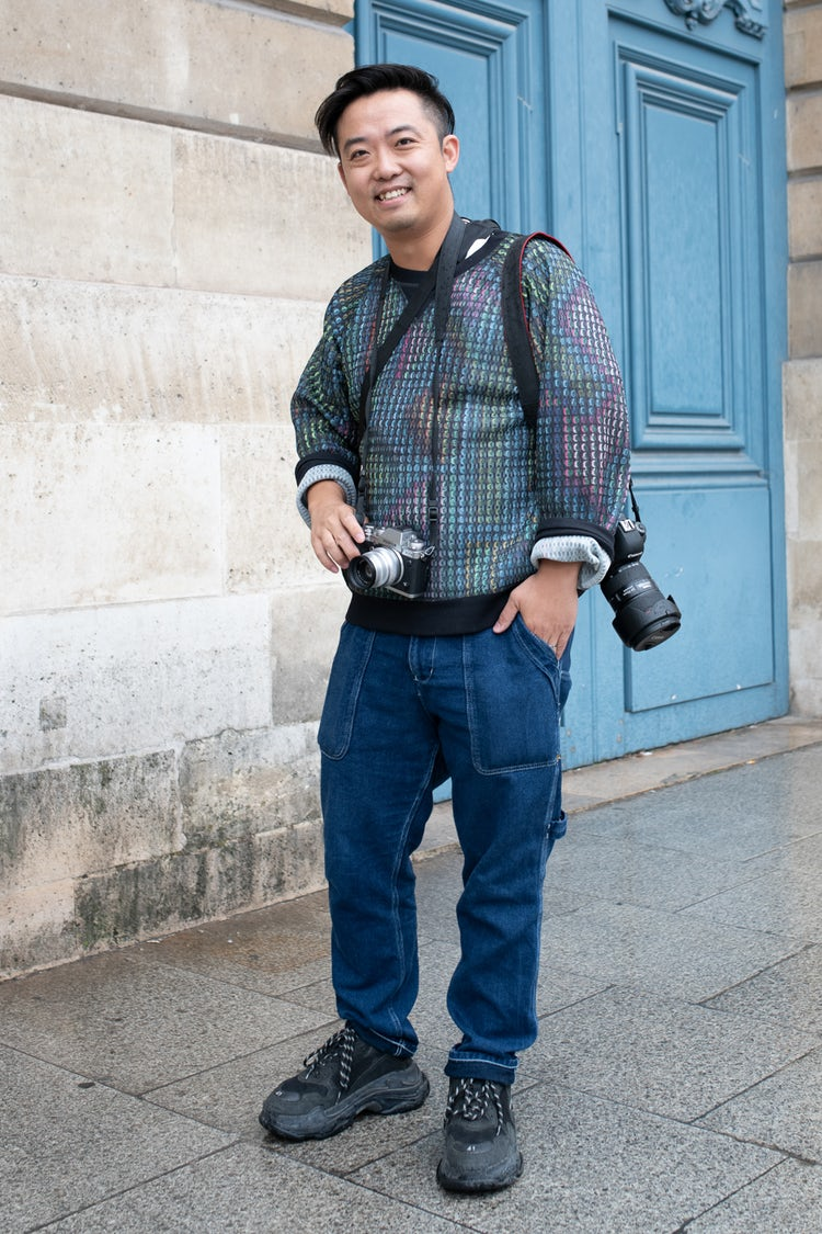 Mens Street Style Paris Fashion Week 5480
