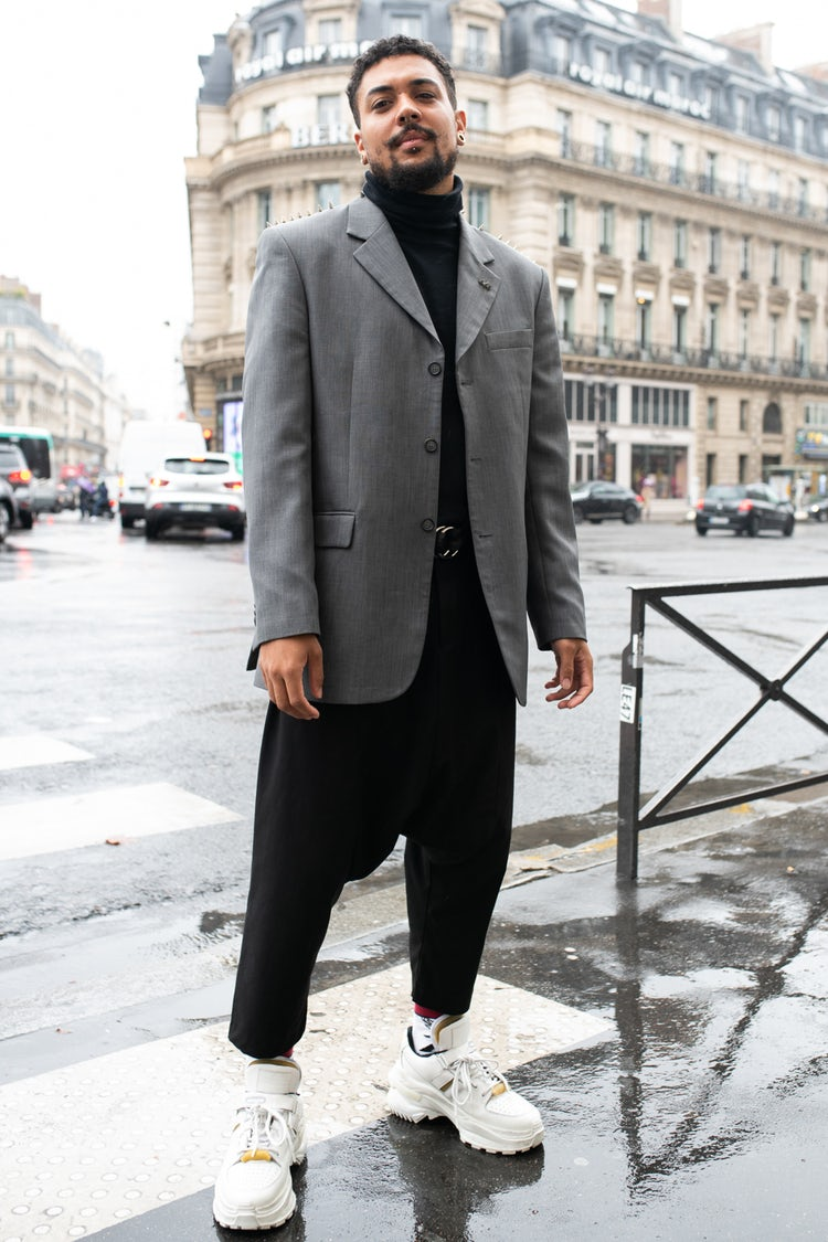 Mens Street Style Paris Fashion Week 5499