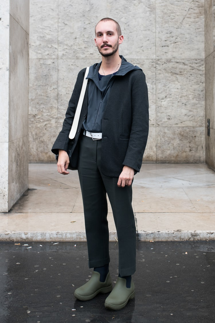 Mens Street Style Paris Fashion Week 5513 0