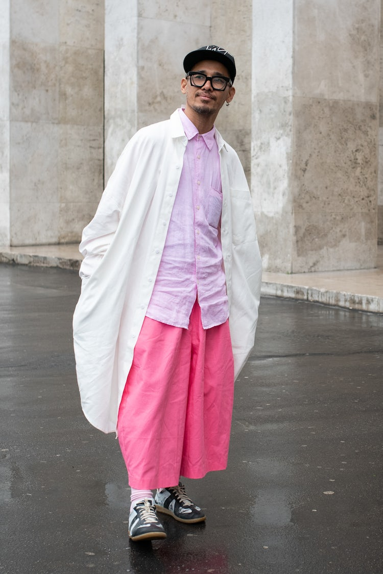 Mens Street Style Paris Fashion Week 5547
