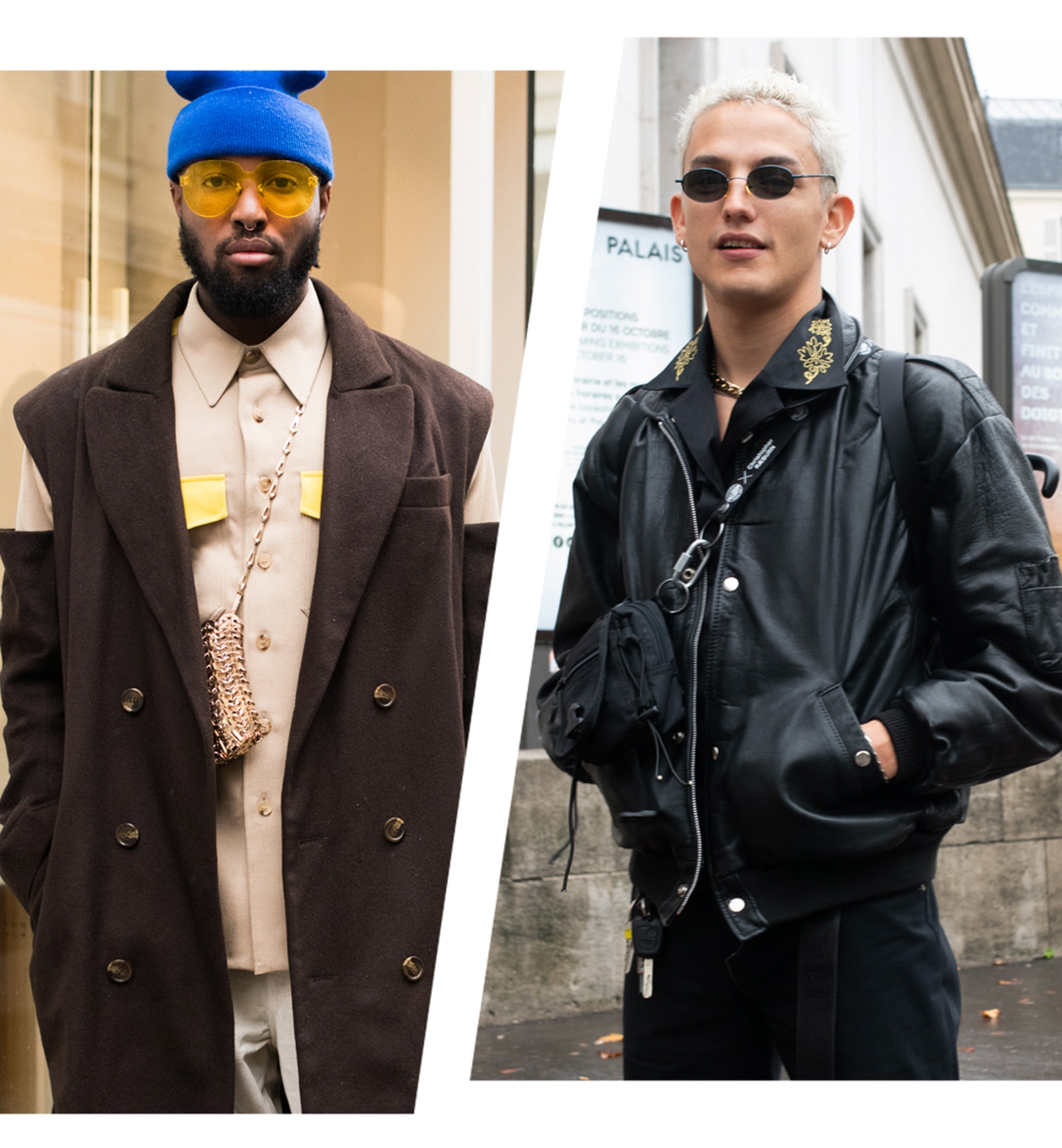 Mens Style streetwear Paris Fashion Week ss20 mobile