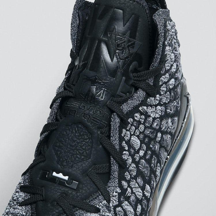 Nike LeBron XVII Oreo 2