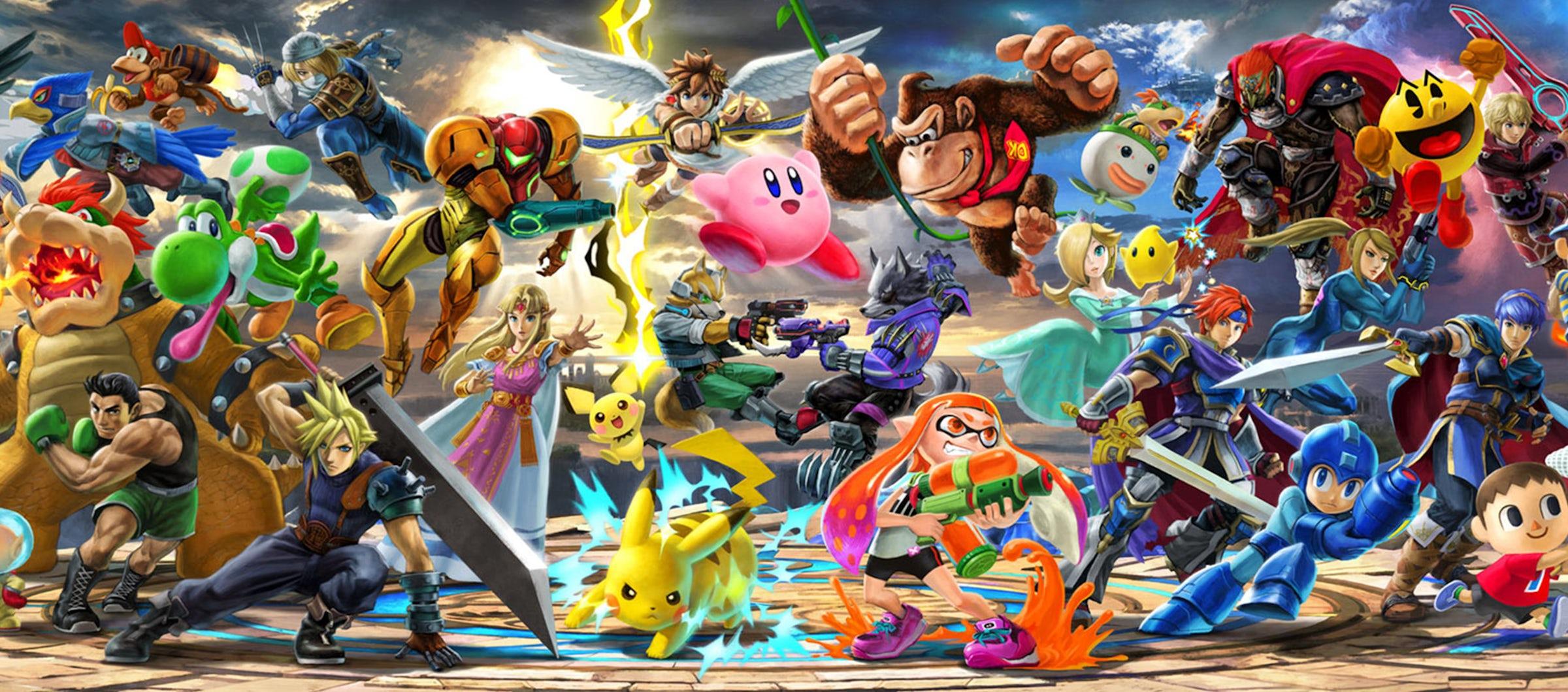 best fighting games super smash bros ultimate 2018 desktop