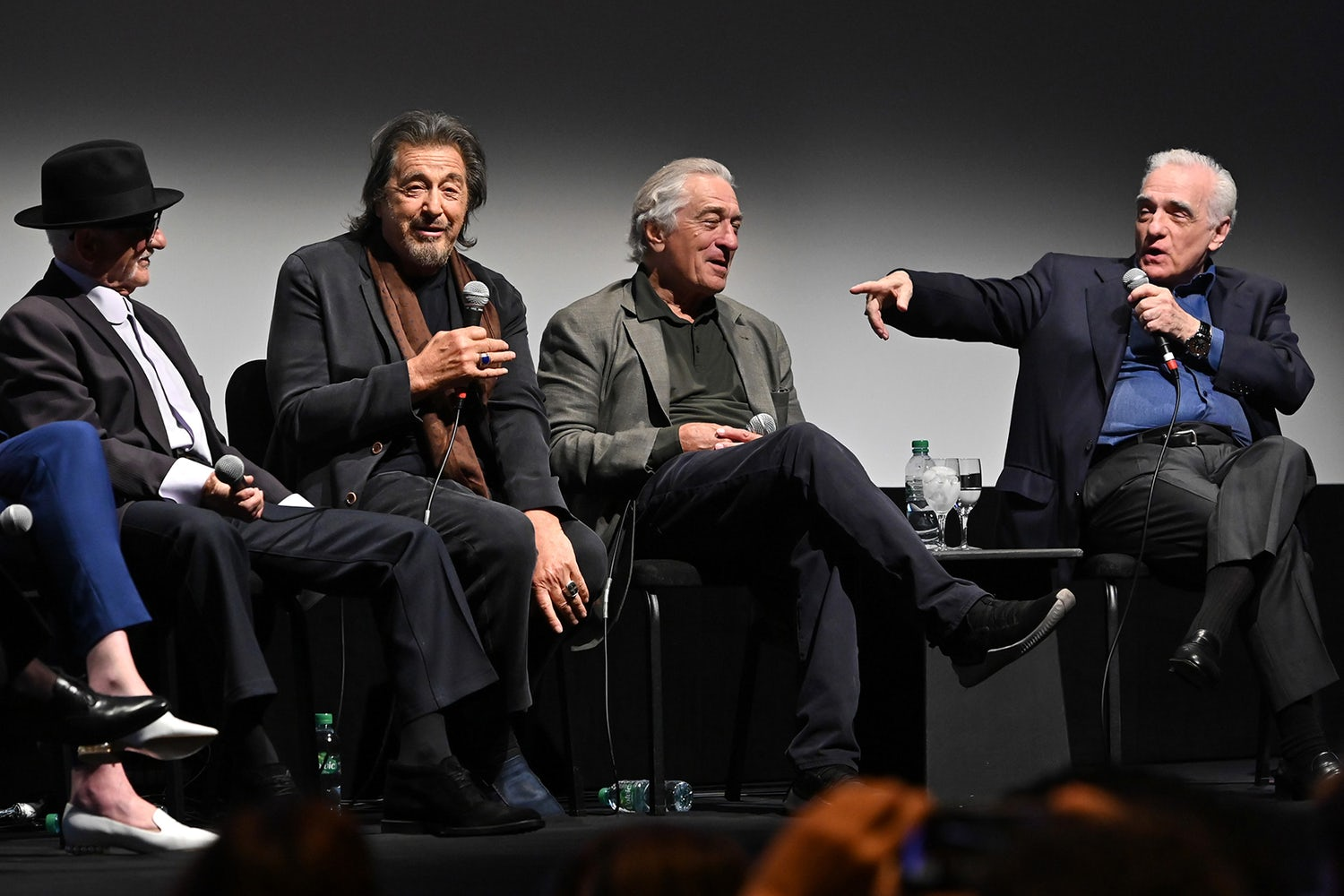 the irishman cast director nyff