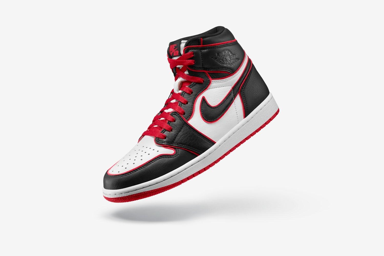 air jordan 1 high og black red 1