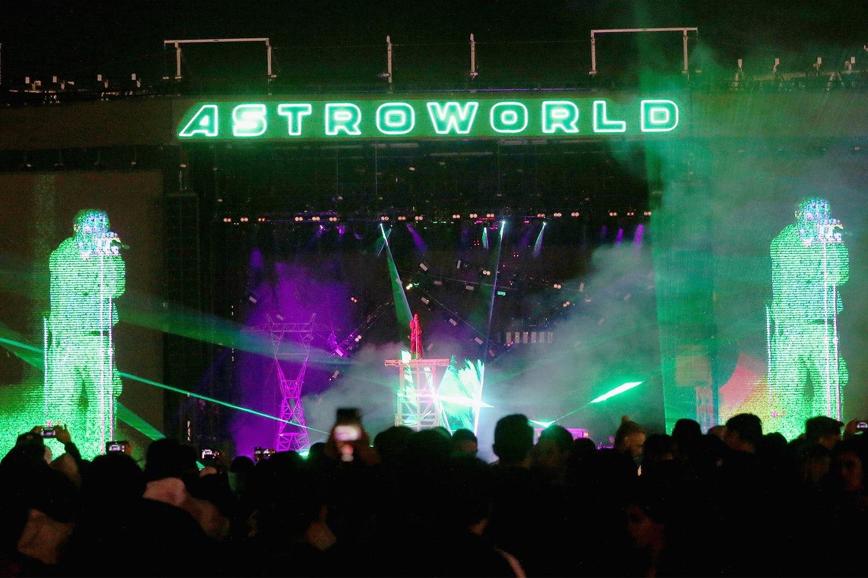artist run music festivals astroworld stage