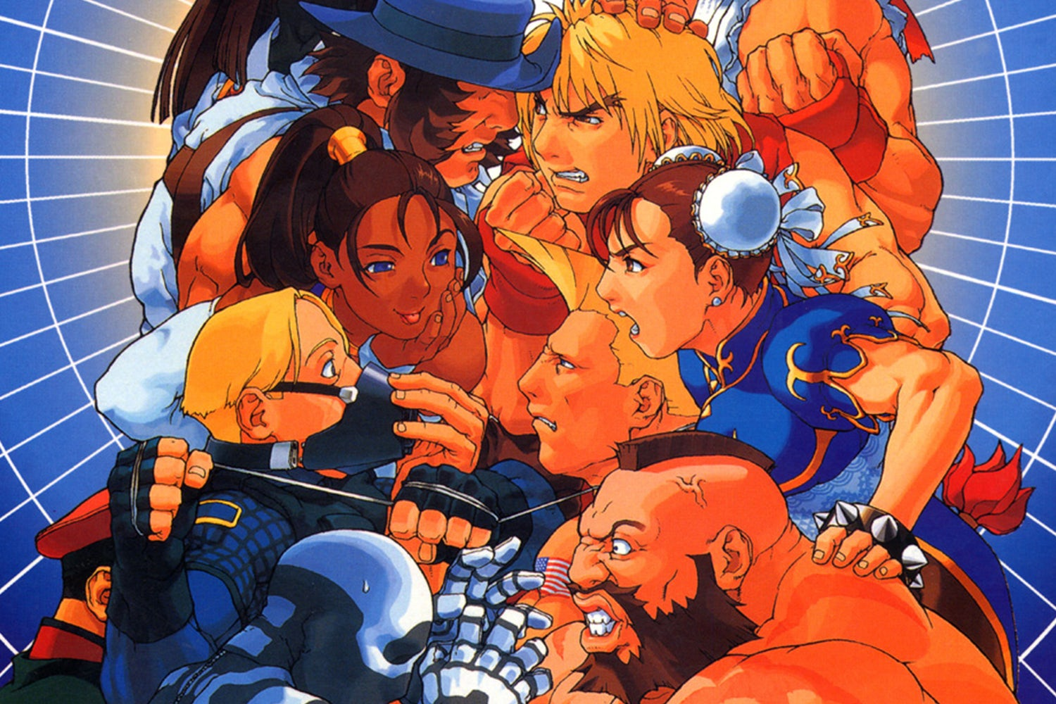 fighting game compilations street figher ex