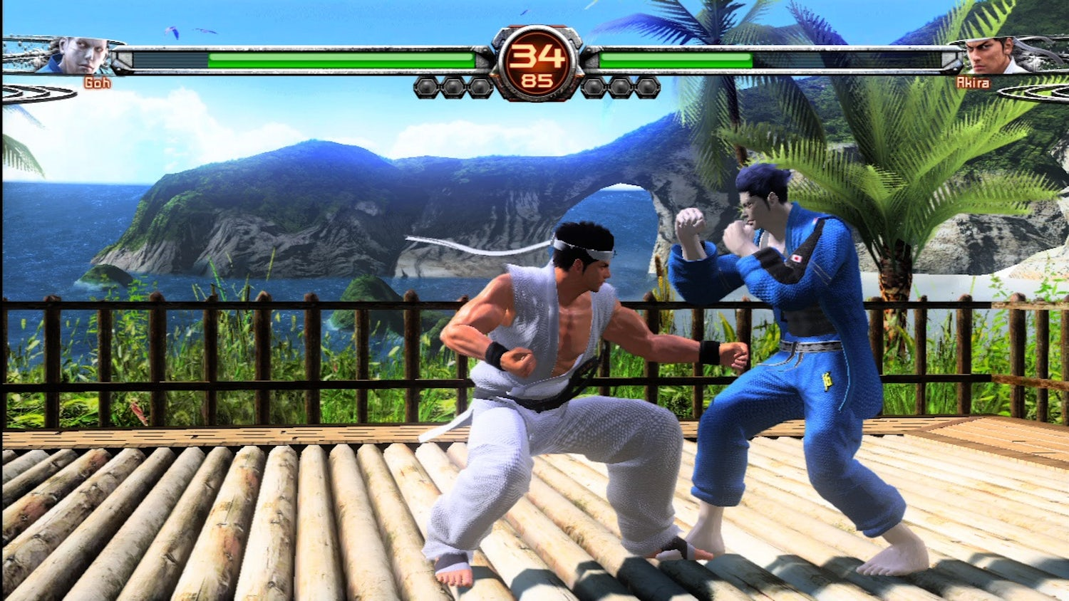 fighting game compilations virtua fighter