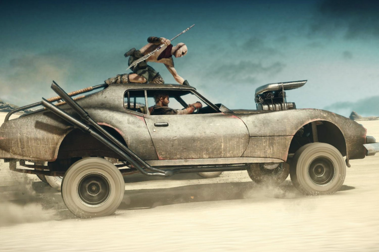 games like fallout mad max