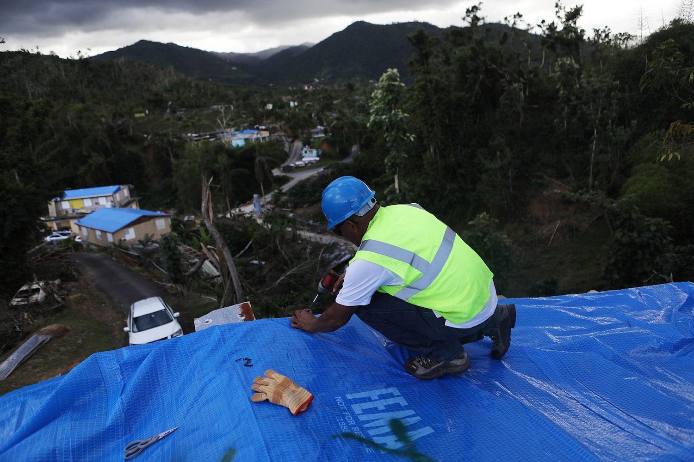 blue tarps fema puerto rico recovery lovetravels