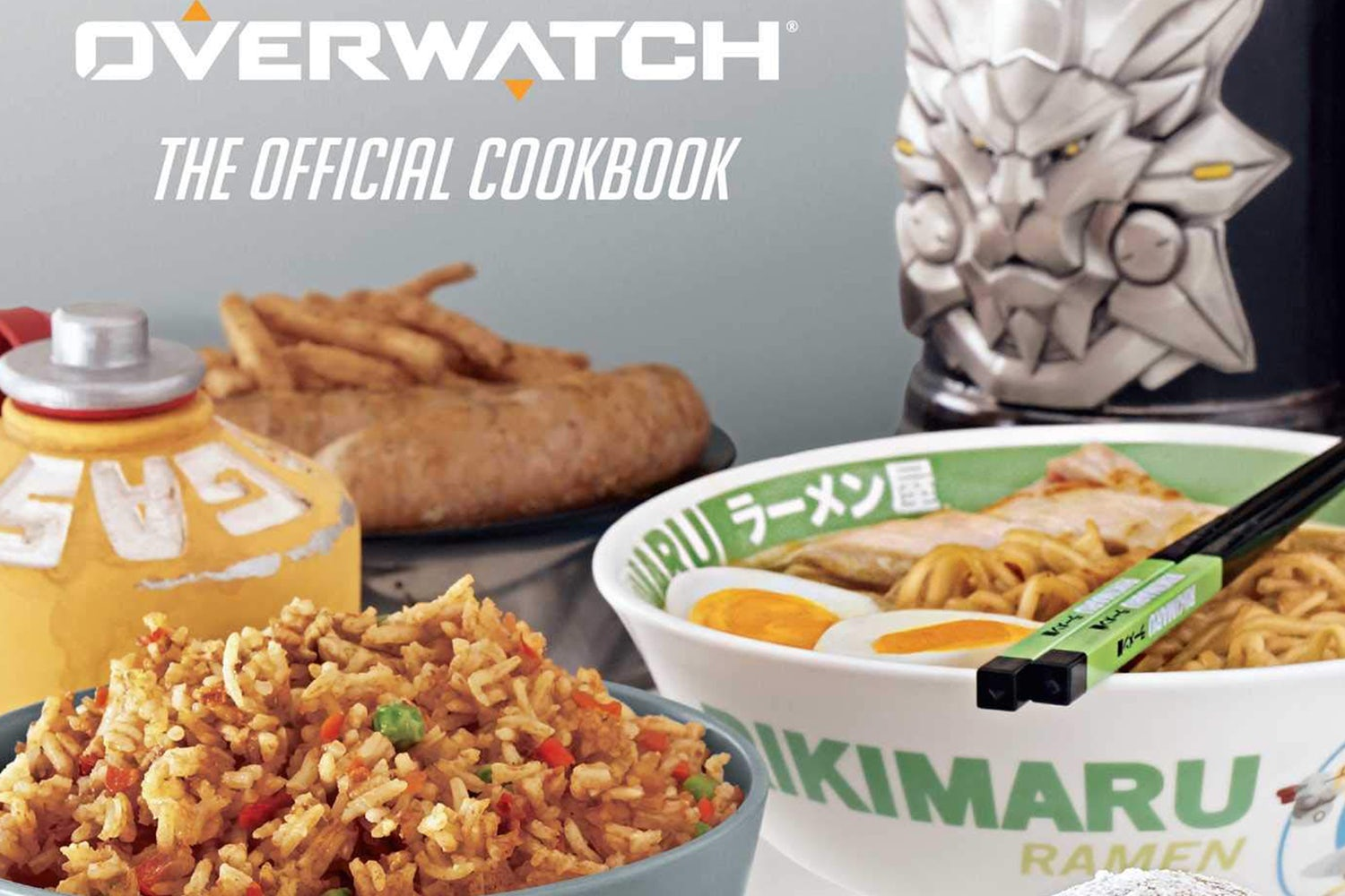 gifts for gamers overwatch cookbook