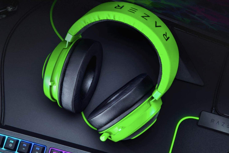 gifts for gamers razer kraken gaming headset