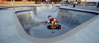 skateboarding style hero
