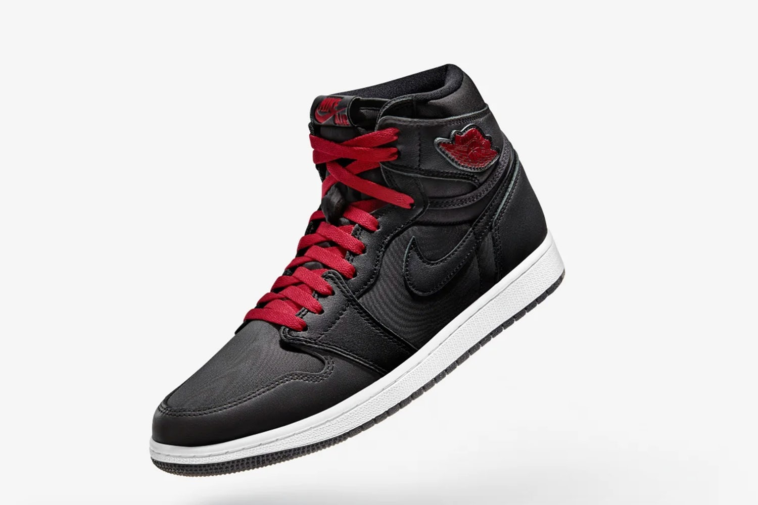 air jordan 1 high black gym red 1