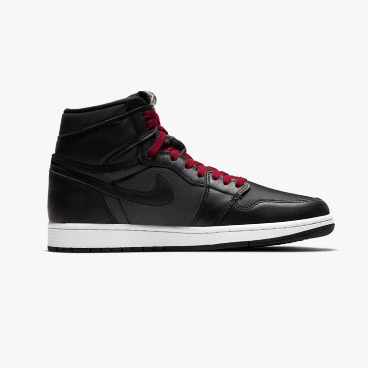 air jordan 1 high black gym red 3