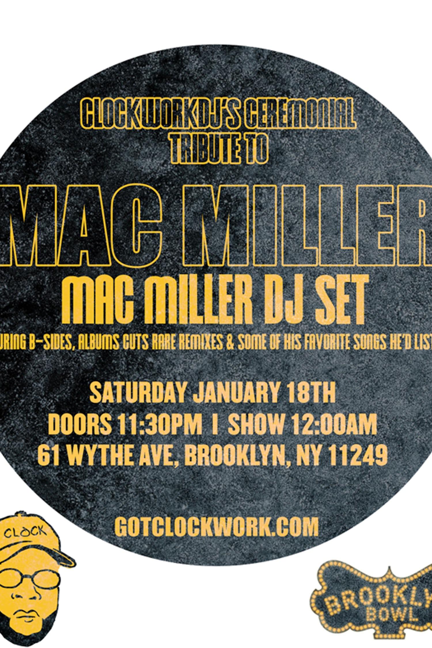 Mac Miller S Dj Clockwork Dj Talks About The Rapper S