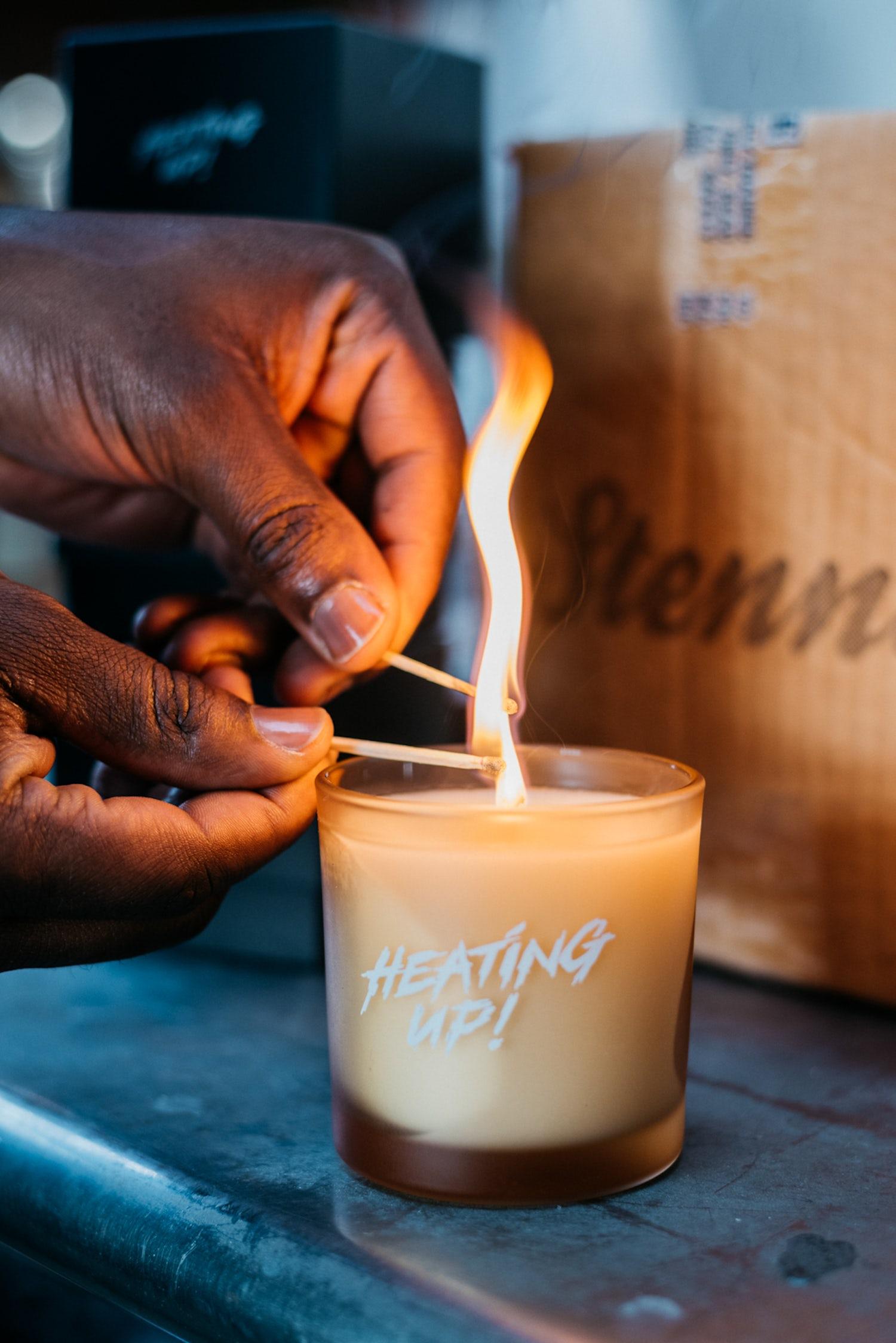 Modi Oyewole Heating Up 20