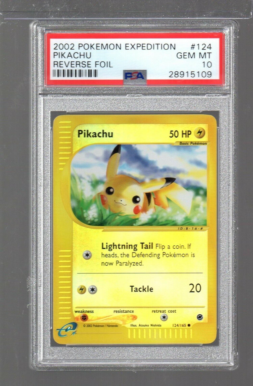 Pikachu PokemonCard