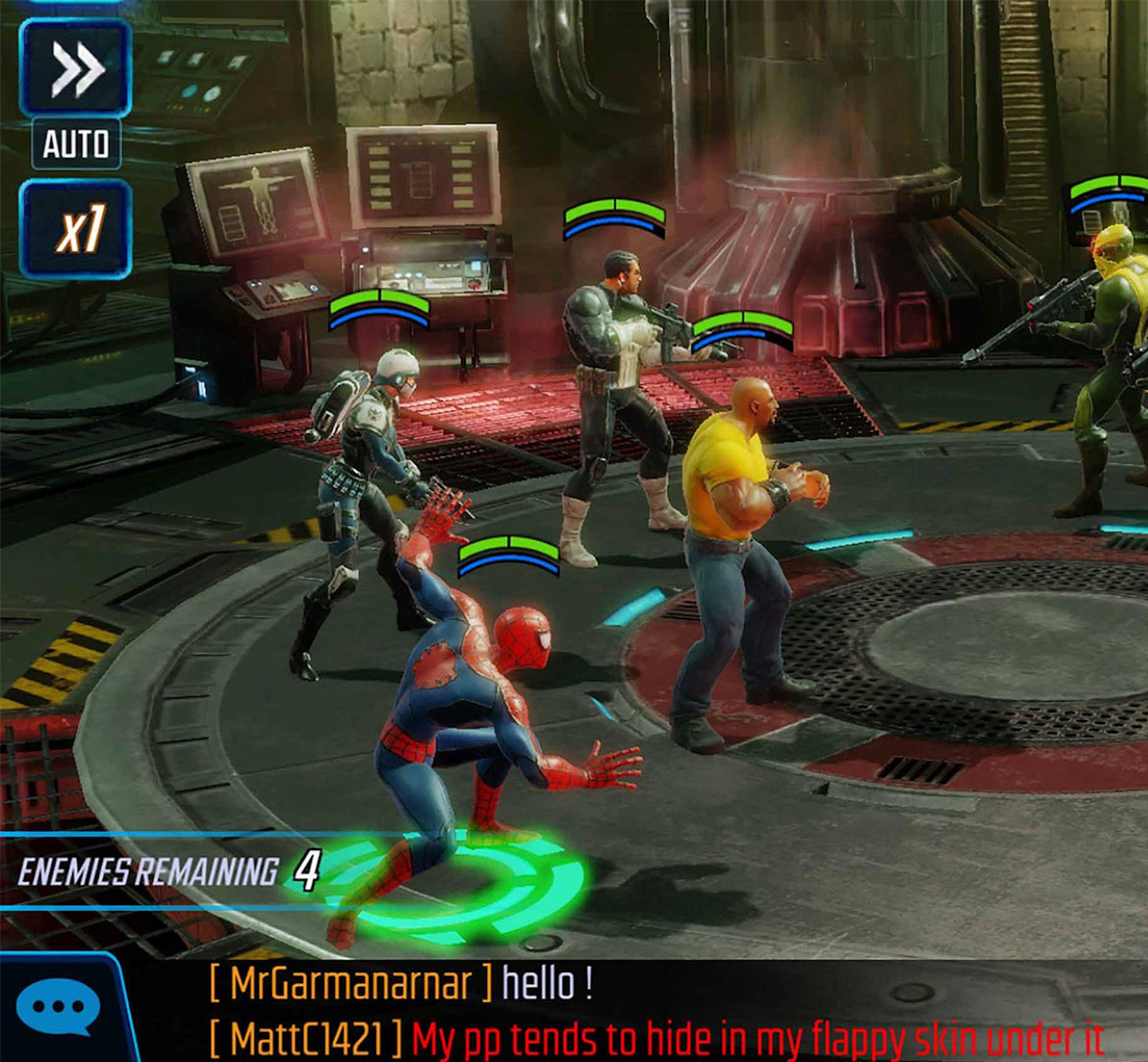 marvelstrikeforce hero