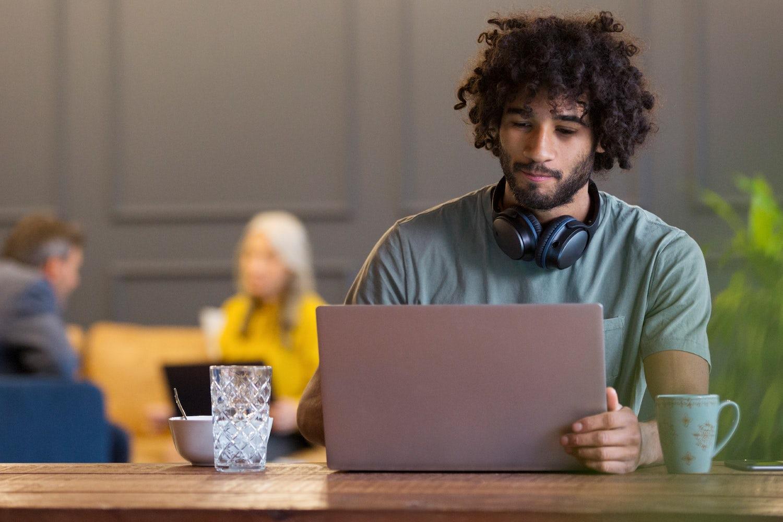 guy at laptop