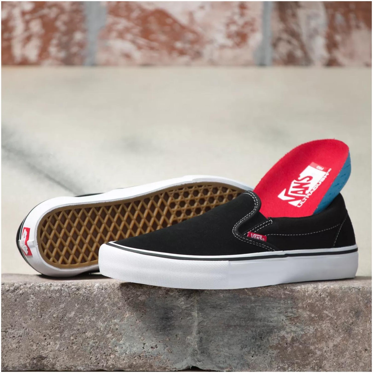 slipons  0002 Vans Slip On