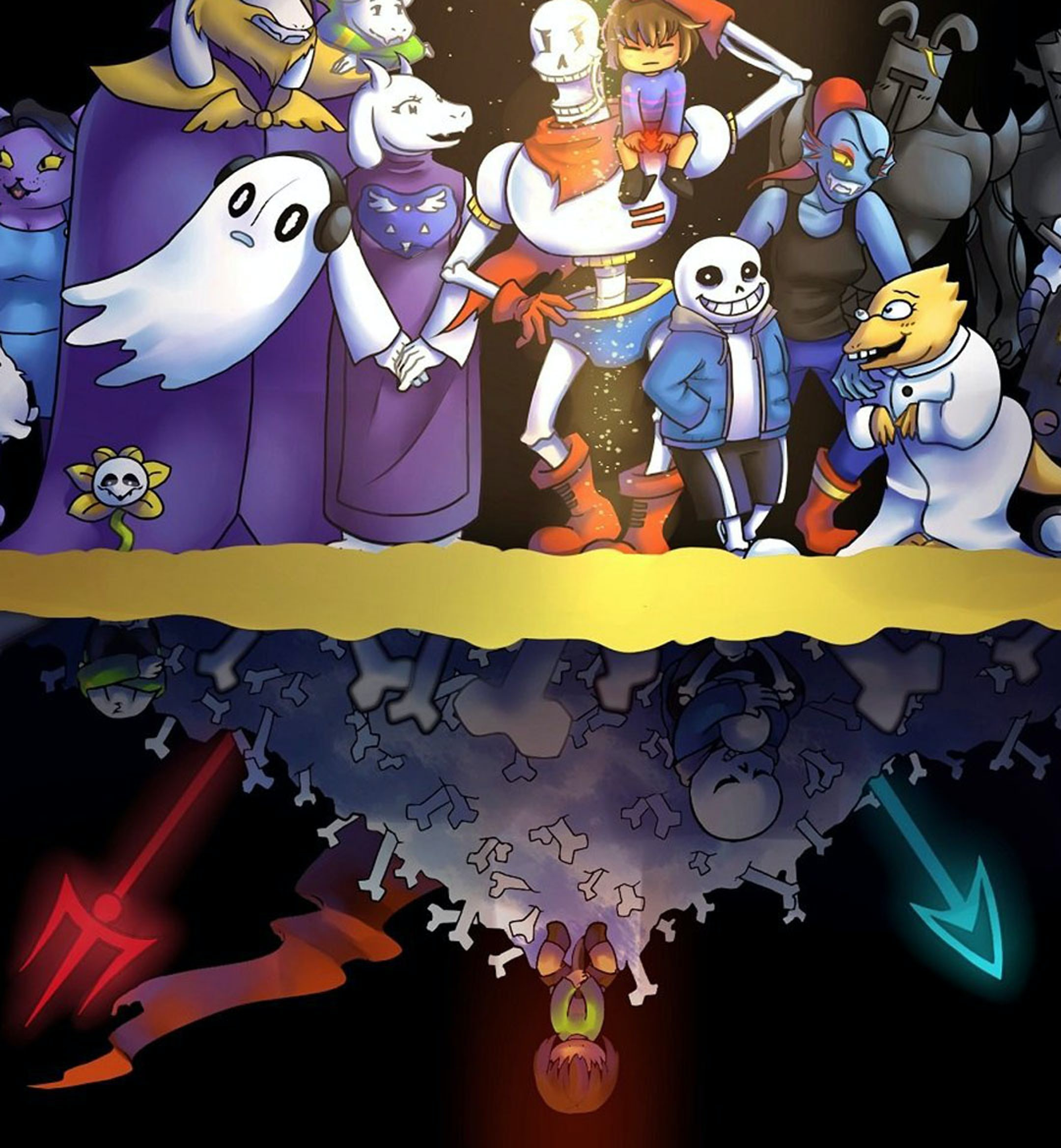 undertale hero